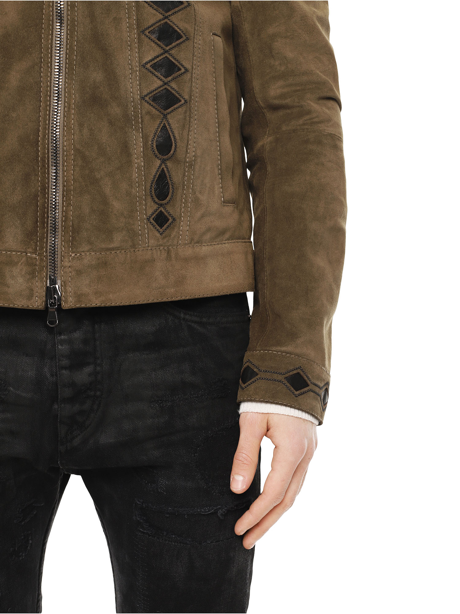 Diesel - LYRICH,  - Leather jackets - Image 6